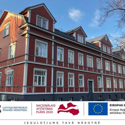 """""""Daudzdzīvokļu dzīvojamās ēkas vienkāršota atjaunošana"""", Lapu iela 19, Rīga"""