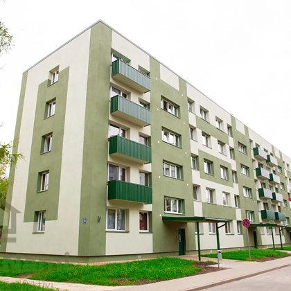"""""""Daudzdzīvokļu dzīvojamās mājas fasādes vienkāršota atjaunošana"""", Mālkalnes prospekts 39, Ogre"""