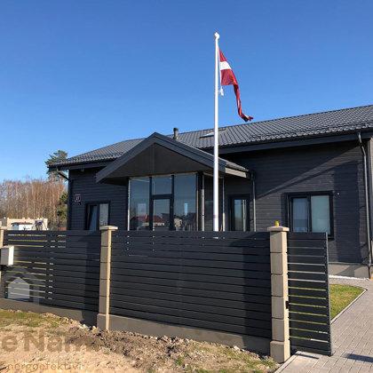Divstāvu privātmājas jaunbūve, Salaspils novads