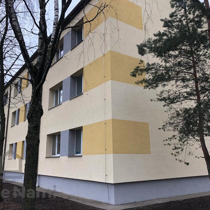 """""""Daudzdzīvokļu dzīvojamās ēkas fasādes vienkāršotā atjaunošana"""", Krīvu iela 3, Rīga"""
