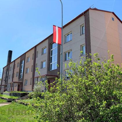 """""""Daudzdzīvokļu dzīvojamās ēkas fasādes vienkāršotā atjaunošana"""", Rožu iela 2, Turaida"""