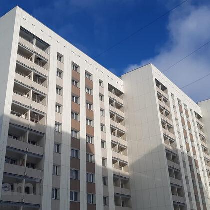 Daudzdzīvokļu dzīvojamā ēkas fasādes vienkāršotā atjaunošana, Tirgus iela 5, Iecava